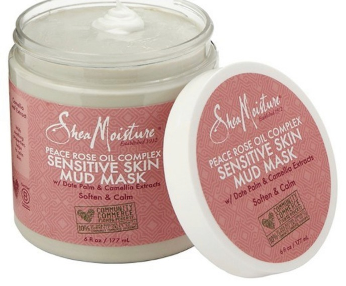 Peace Rose Oil Complex Sensitive Skin Mud Mask